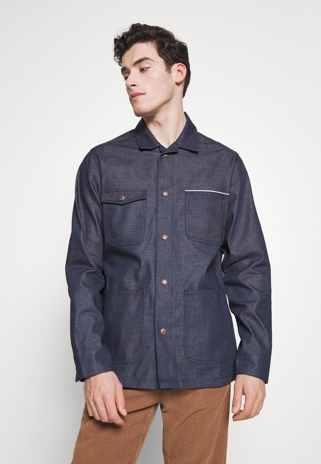 JJIROYAL JJWORKER - Denim jacket - blue denim