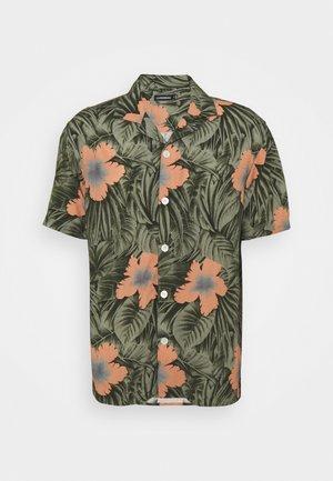PRINT RESORT SHIRT - Camicia - sage