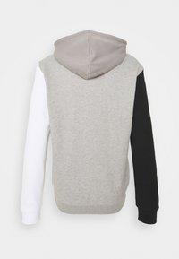 adidas Originals - BLOCKED UNISEX - Luvtröja - black/white - 7
