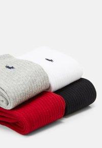 Polo Ralph Lauren - CREW 6 PACK - Socks - black/red/navy/charcoal - 1
