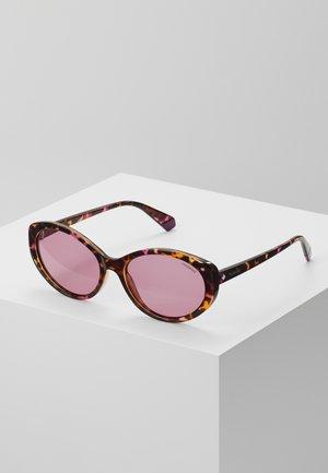 Sonnenbrille - pink/havana