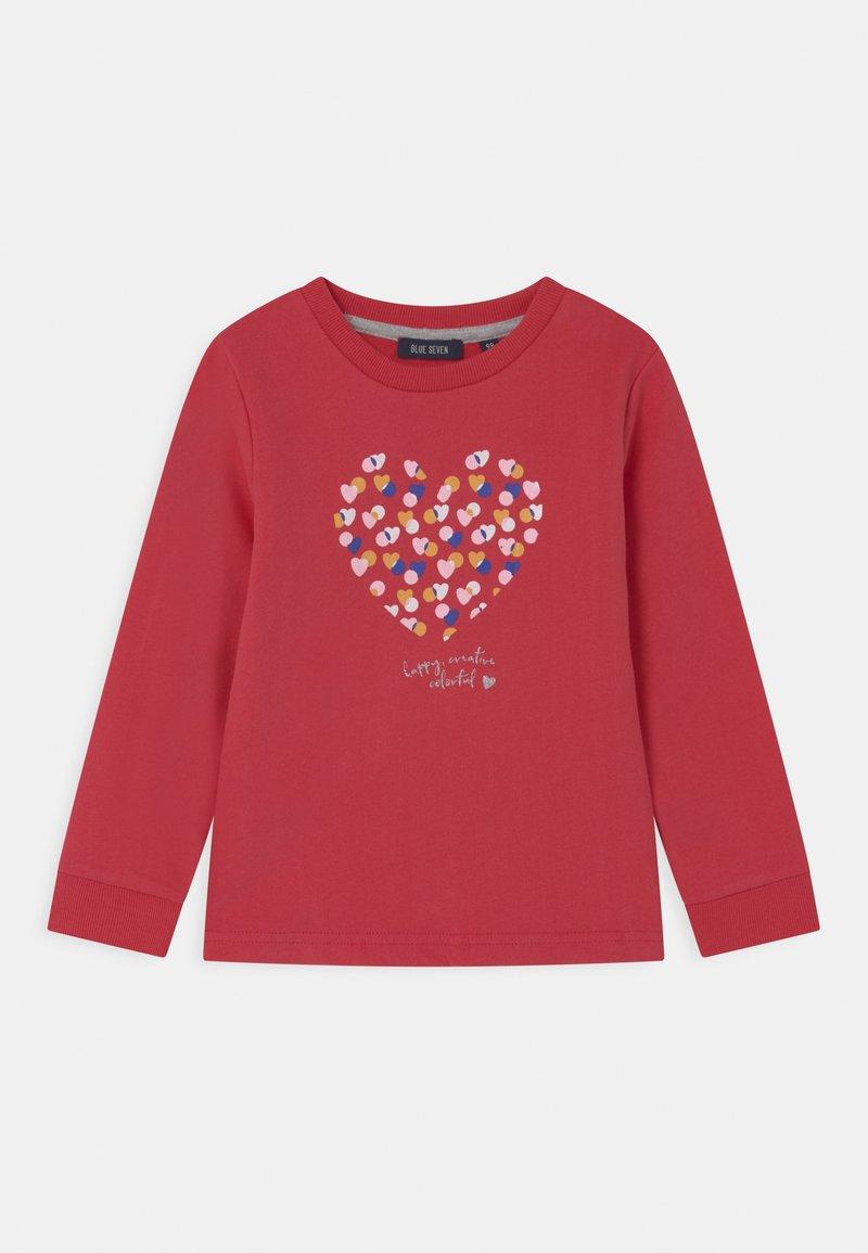 Blue Seven - KIDS GIRLS - Sweatshirt - rot