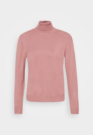 AMMY ROLL NECK - Maglione - old rose