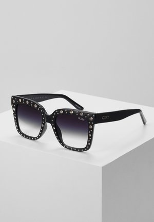 ICY EMBELLISHED LIZZO - Sunglasses - black