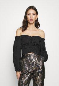 Miss Selfridge - BARDOT - Bluse - black - 0