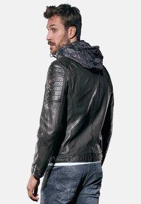 Emilio Adani - Leather jacket - schwarz - 2