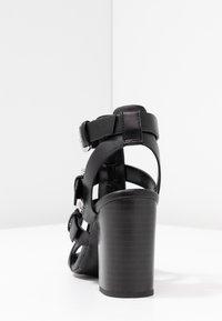 New Look - PENG - Sandály na vysokém podpatku - black - 5