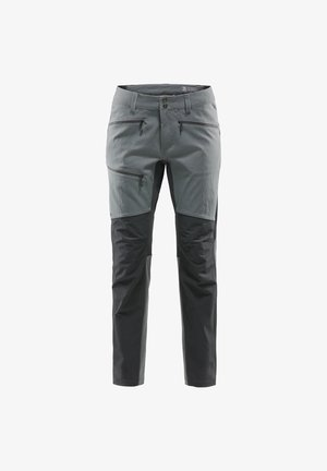RUGGED FLEX PANT  - Friluftsbukser - magnetite/true black long