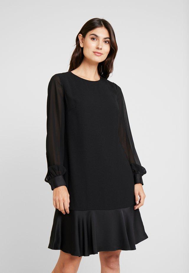 GLORIA DRESS - Korte jurk - black