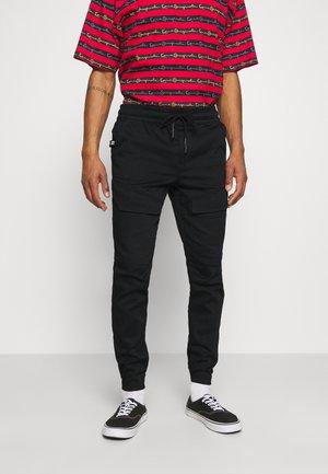 JJIWILL JJGUS - Cargo trousers - black