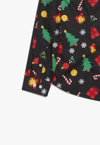 OppoSuits - TEENS CHRISTMAS ICONS - Shirt - black - 3