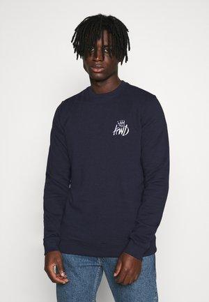 CROSBY CREW - Sweatshirt - navy