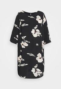 ONLY Carmakoma - CARTINE TUNIC DRESS - Day dress - black - 4