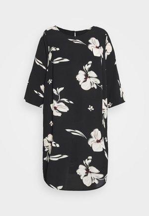 CARTINE TUNIC DRESS - Korte jurk - black