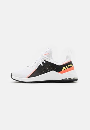 AIR MAX BELLA TR 3 - Sports shoes - white/light zitron/black/bright mango