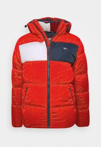 Tommy Jeans - COLORBLOCK PADDED JACKET - Kurtka zimowa - deep crimson - 5