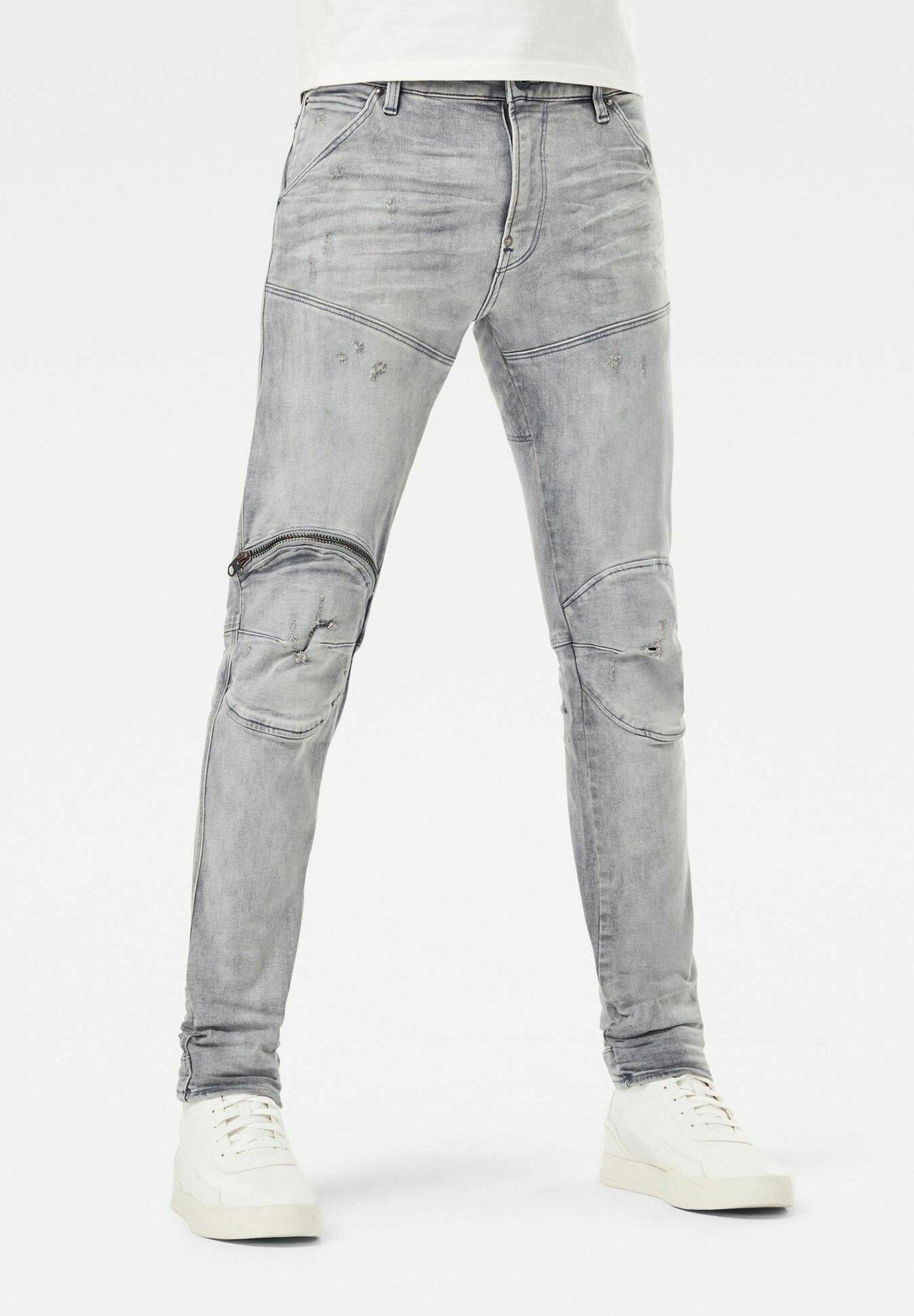 Herren 5620 3D ZIP KNEE SKINNY - Jeans Skinny Fit