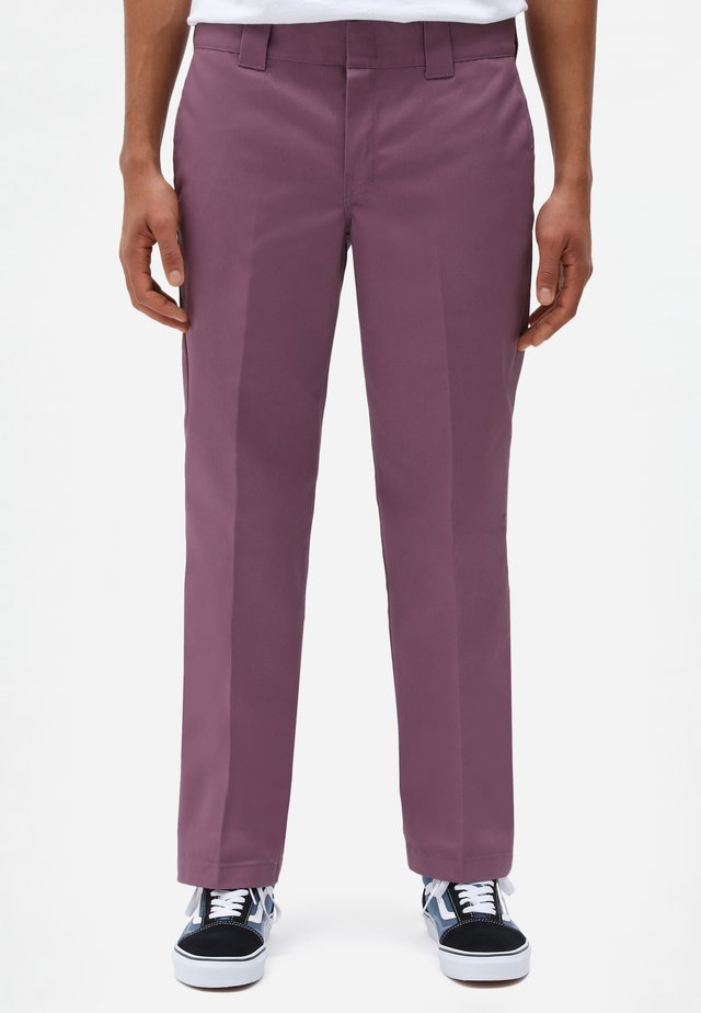 Pantalon classique - purple gumdrop