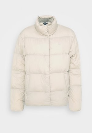 Down jacket - soft beige