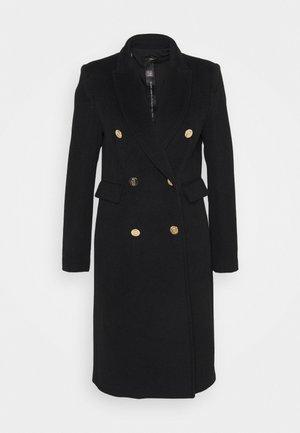 Płaszcz wełniany /Płaszcz klasyczny - nero