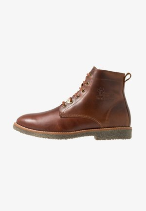 GLASGOW IGLOO - Lace-up ankle boots - bark