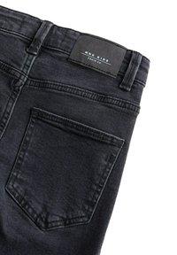 Mango - SLIM - Slim fit jeans - black denim - 3