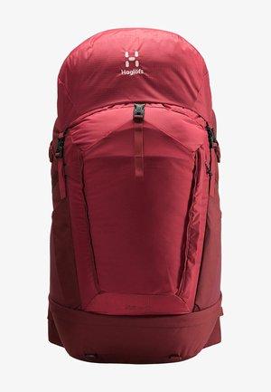 STRÖVA 65 - Hiking rucksack - brick red/light maroon red m-l