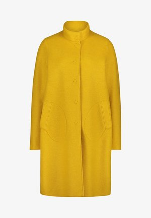 MIT STEHKRAGEN - Short coat - ceylon yellow