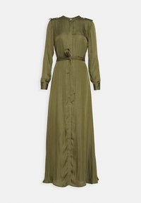 Banana Republic - TRENCH MAXI DRESS - Sukienka koszulowa - jungle olive - 4