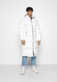 Schott - MAX UNISEX - Winter coat - white - 0