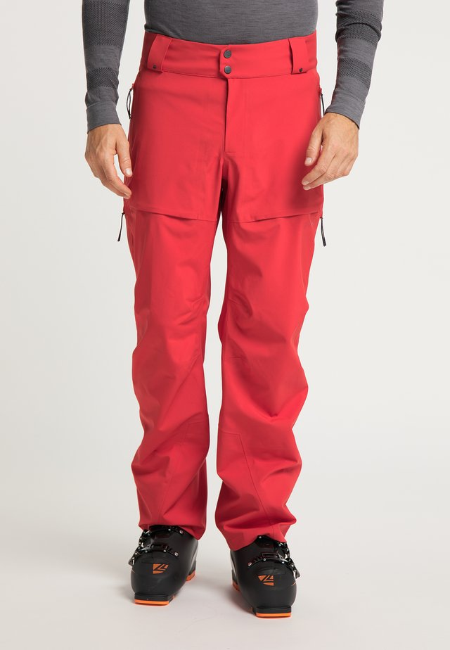 Trousers - ember red