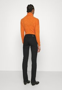 Mavi - OLIVIA - Straight leg jeans - double black - 2