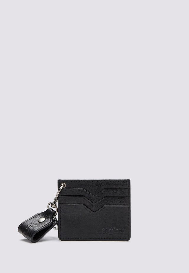 MIT ANHÄNGER - - Business card holder - black