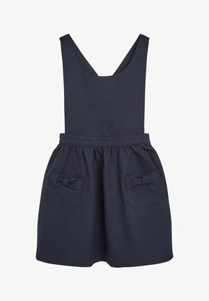 BOW PINAFORE  - Day dress - blue