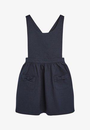 BOW PINAFORE  - Korte jurk - blue