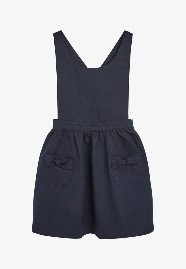 BOW PINAFORE  - Sukienka letnia - blue