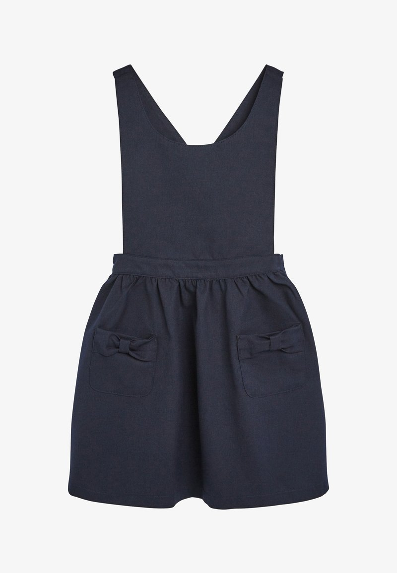 Next - BOW PINAFORE  - Day dress - blue