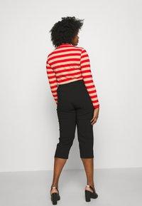 Ciso - BENGALIN 3/4 - Pantalon classique - black - 2