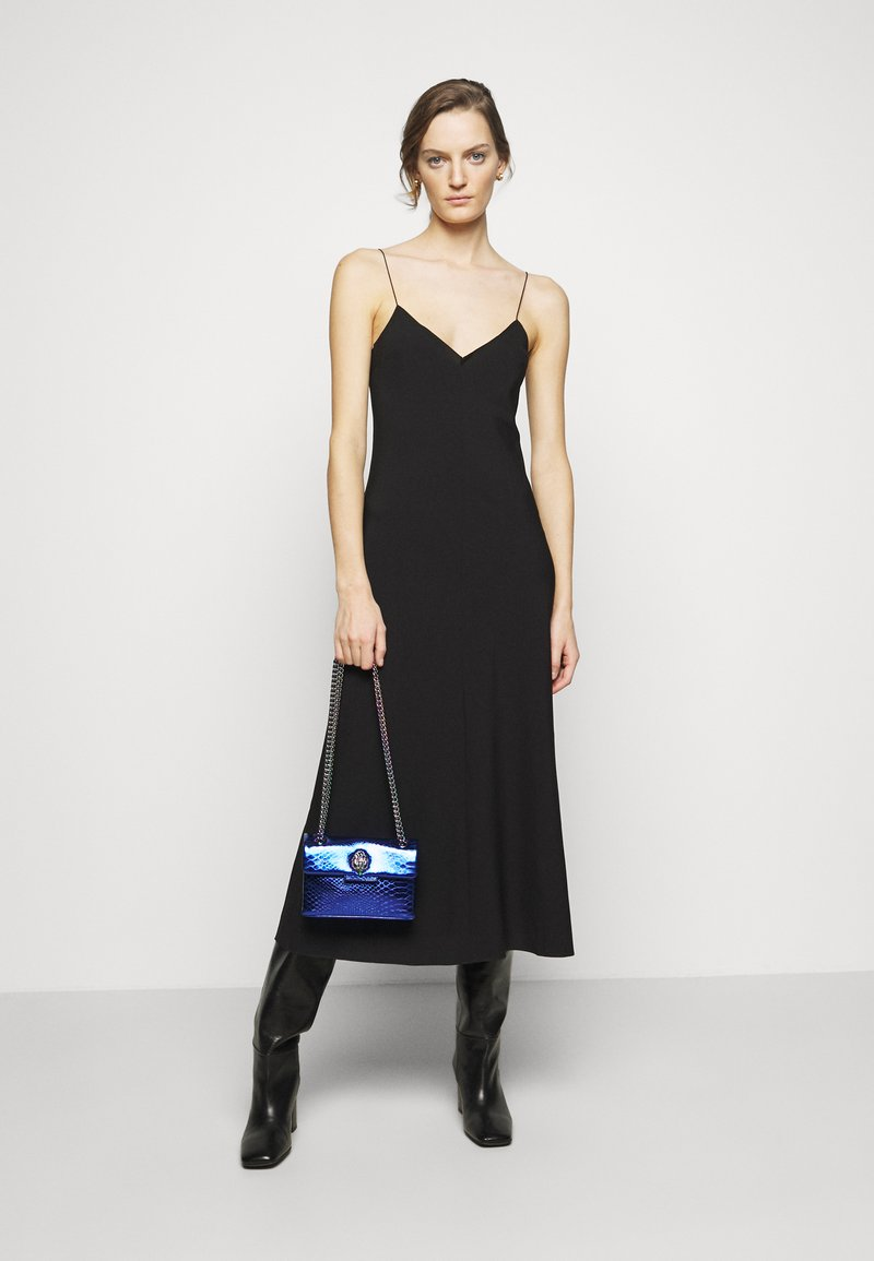 Kurt Geiger London - MINI KENSINGTON BAG - Across body bag - blue