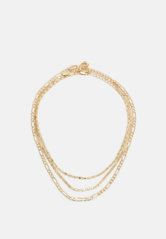 PCDIDDY COMBI NECKLACE 3 PACK - Necklace - gold-coloured