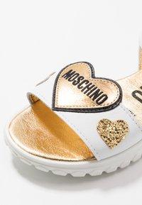 MOSCHINO - Sandals - white - 2