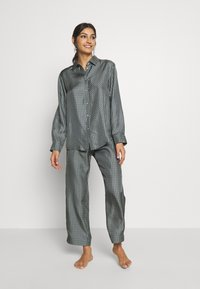 ASCENO - LONDON - Pyjamashirt - grey/black