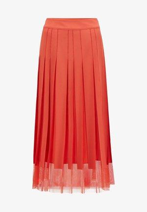 VOBY - A-line skirt - dark orange