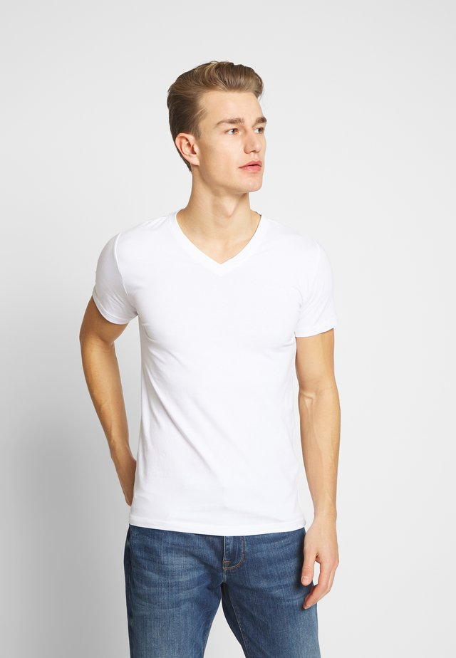 AWAX - Basic T-shirt - blanc