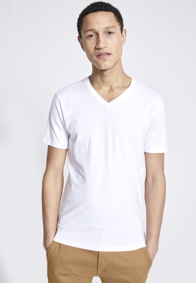 SUPIMA  - T-shirt basique - white