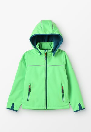 JARVIS MIT MAGIC OBERFLÄCHE - Chaqueta softshell - lime
