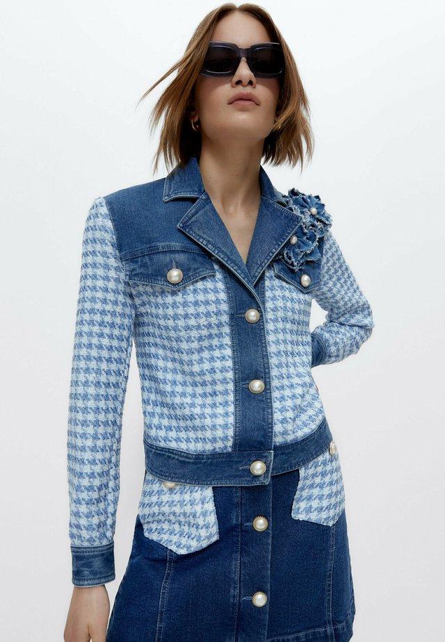 Giacca di jeans - blue