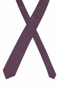 BOSS - Tie - dark purple - 2