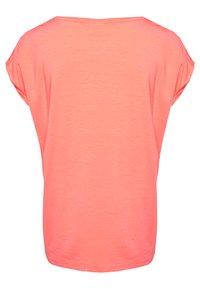 Vero Moda - VMAVA PLAIN - T-shirt basic - salmon - 1