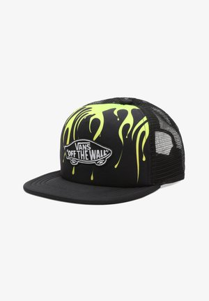 BY CLASSIC PATCH TRUCKER PLUS BOYS - Pet - black/slime
